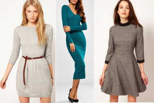 платье на одно плечо: особенности выбора